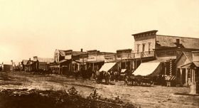 Dodge City, Kansas 1876