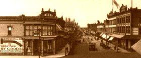 Street in El Paso, Texas, 1888