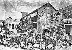 Elizabethtown, New Mexico Street Scene