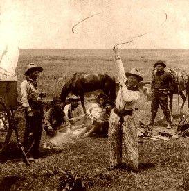 Fancy roping in Oklahoma
