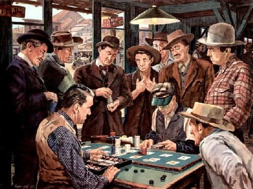 cowboy referred country gambling