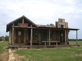 Shaunissy's Saloon, Fort Griffin, Texas, Kathy Weiser