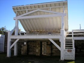 Fort Smith, Arkansas Gallows by Kathy Weiser-Alexander.