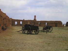 Fort Union, New Mexico wagons