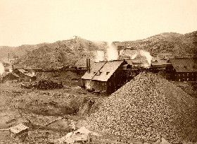 Homestake Mine, South Dakota 1889.