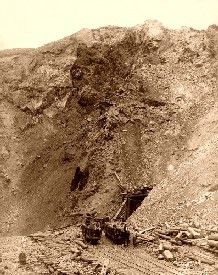 Homestake Mine Open Cut, 1888
