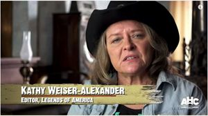 Kathy Weiser-Alexander talking about Masterson