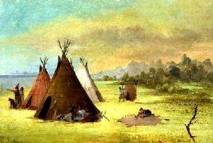 Kiowa Indian Camp