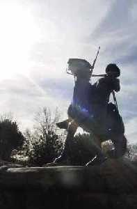 Buffalo Soldier Monument at Fort Leavenworth