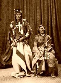 Cheyenne Chiefs Little Wolf and Dull Knife