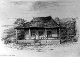Manuel Lisa house in St. Louis, Missouri