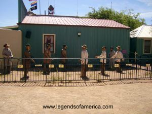 Re-creation of the Gunfight at the O.K. Corral