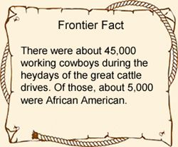 Old West Fact: Cowboys