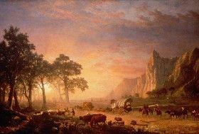 Oregon Trail, Albert Bierstadt, 1869