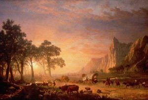 Oregon Trail, Albert Bierstadt, 1869