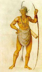 Powhattan Warrior by John White