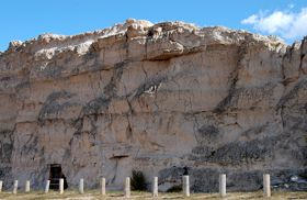 Register Cliff near near Guernsey, Wyoming, Kathy Weiser.