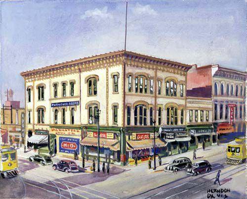 Soapy Smith's office in Denver, Colorado.