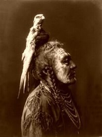 Two Whistles, a Crow Medicine Man