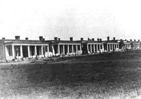 Fort Union Officer's Quarters, 1870's