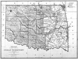 Indian Territory Map