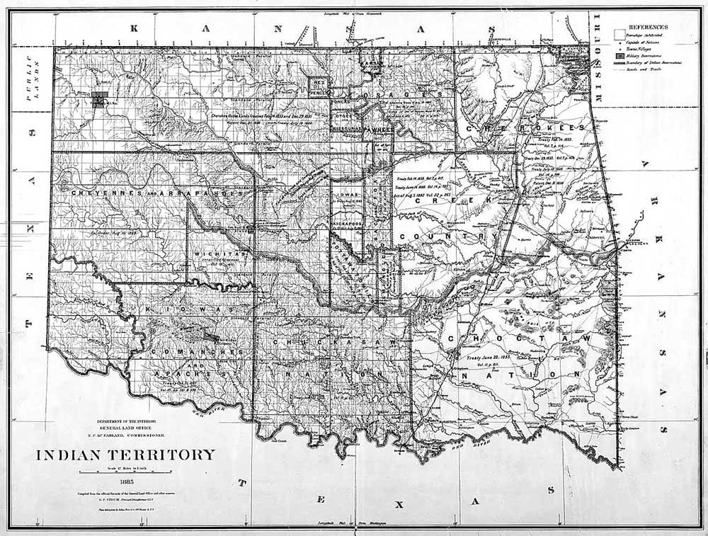Legends of Indian Territory – Legends of America
