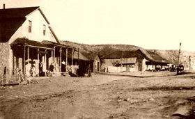 Lincoln, New Mexico, 1800's
