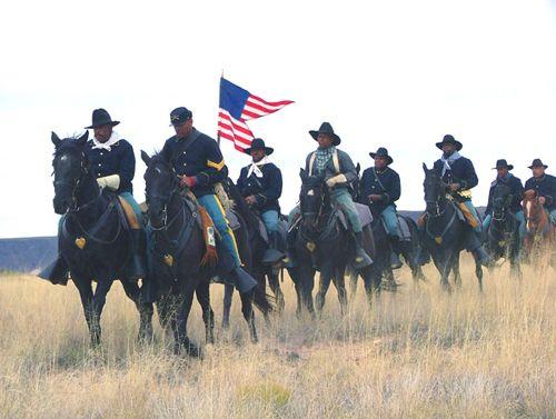Buffalo Soldier Reenactment