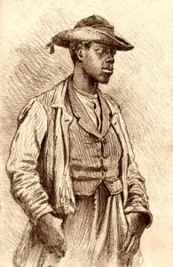 Teamster by Edwin Forbes, 1863
