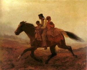 A Ride for Liberty by Eastman Johnson