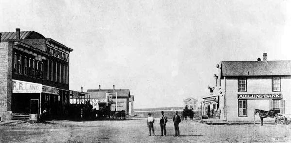 Abilene, Kansas 1875
