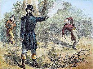 Alexander Hamilton - Aaron Burr Duel