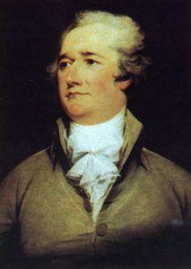 Alexander Hamilton by John Trumbull, 1792