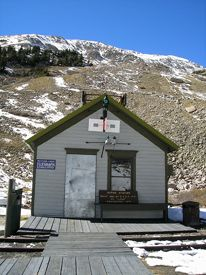 Alpine Tunnel Station by Kathy Weiser