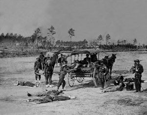 Ambulance Corps in the Civil War by William Brown