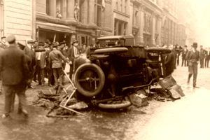 Anarchist bombing in New York City