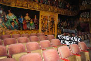 Armagosa Opera House Theater, Death Valley Junction, California by Kathy Weiser