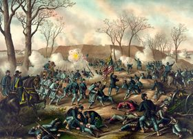 Battle of Fort Donelson, Tennessee