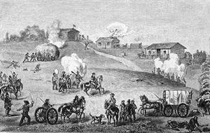 Battle of Hickory Point, Kansas