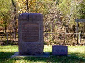 Battle of Blackjack Historic Markers, Kathy Weiser