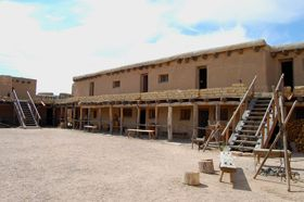 Bent's Fort Colorado by Kathy Weiser