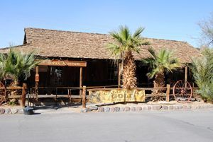 Borax Museum at Furnace Creek Ranch, Death Valley, California