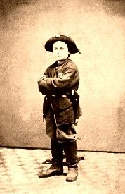 A boy soldier in the Civil War