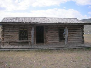 Cody, WY - Old Trail Town - Wild Bunch Cabin