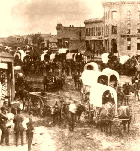 Caldwell, Kansas 1880s