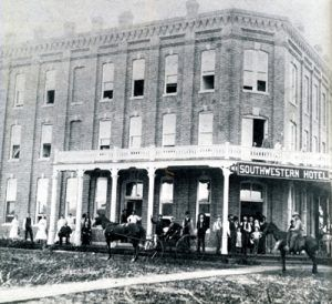 Southwestern Hotel in Caldwell, Kansas