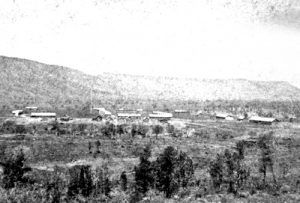 Camp Apache, by Timothy H. O Sullivan, 1873