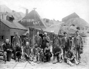 Pittsburg Mine, Central City, Colorado, 1890