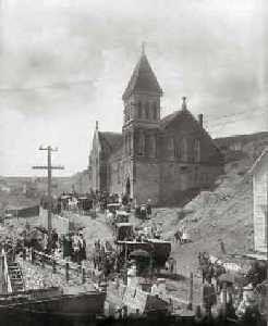Sleepy Hollow Funeral, Central City, Colorado, 1895