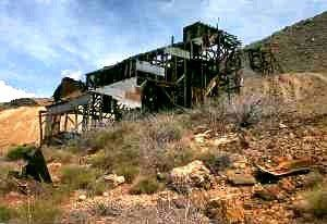Old mine at Cerbat, Arizona courtesy Kurt Wenner